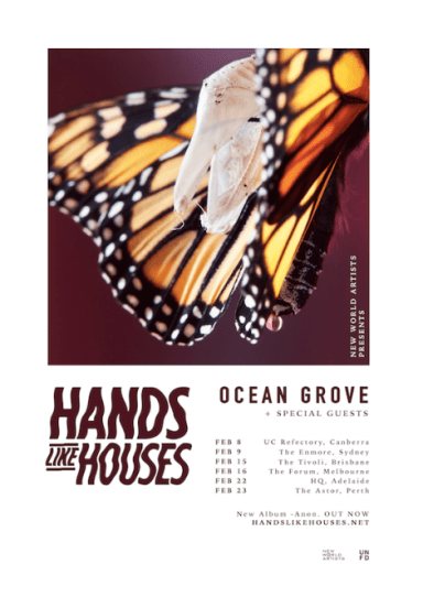 Hands Like Houses Tour