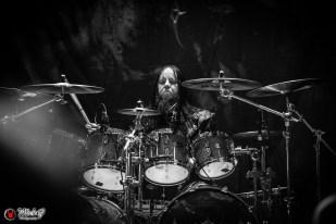 Joey Jordison in Sinsaenum (Sydney, Australia 2018)