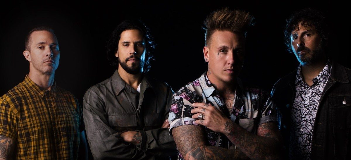 Papa Roach dropped a new song called 'Not The Only One' + announced new album Who Do You Trust?