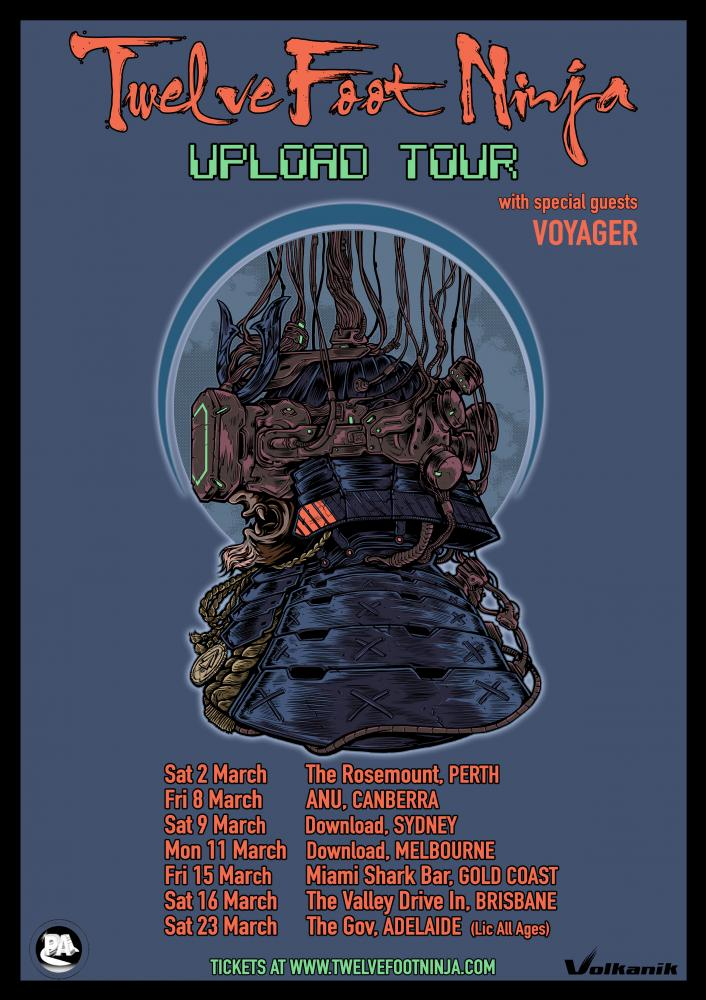 twelve foot ninja tour