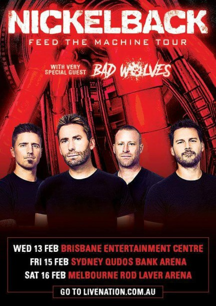 Nickelback tour 2019 feb