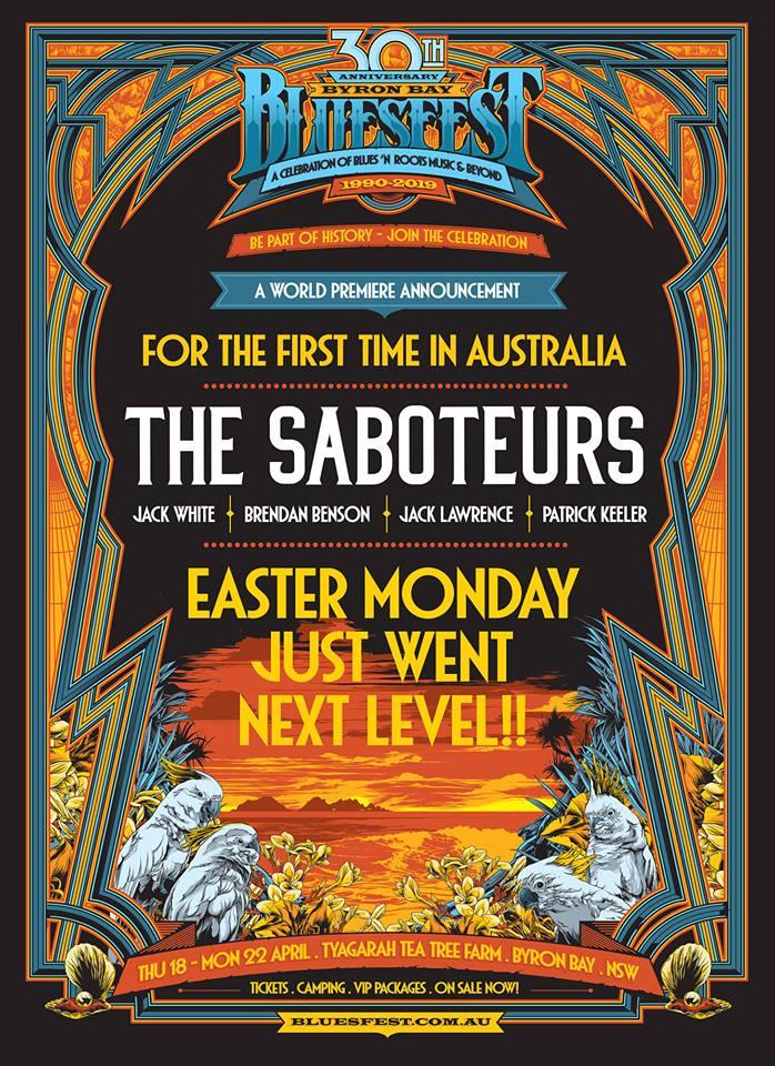 The Saboteurs Bluesfest