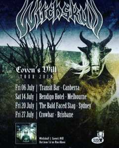 Witchskull-Tour