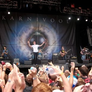 Karnivool at Big Day Out 2010. Photo: Paul 'Browny' Brown