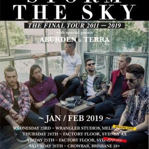 storm the sky tour