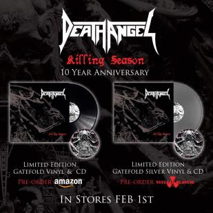 Death Angel– Killing Seasonvinyl 3