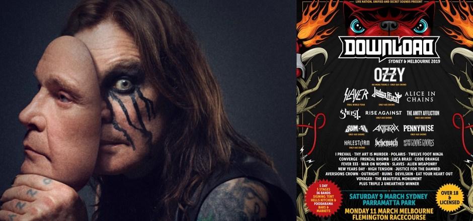 "Download Festival are ""confident"" Ozzy Osbourne's UK Tour"