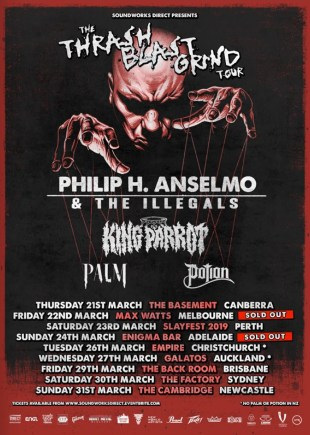 phil anselmo tour