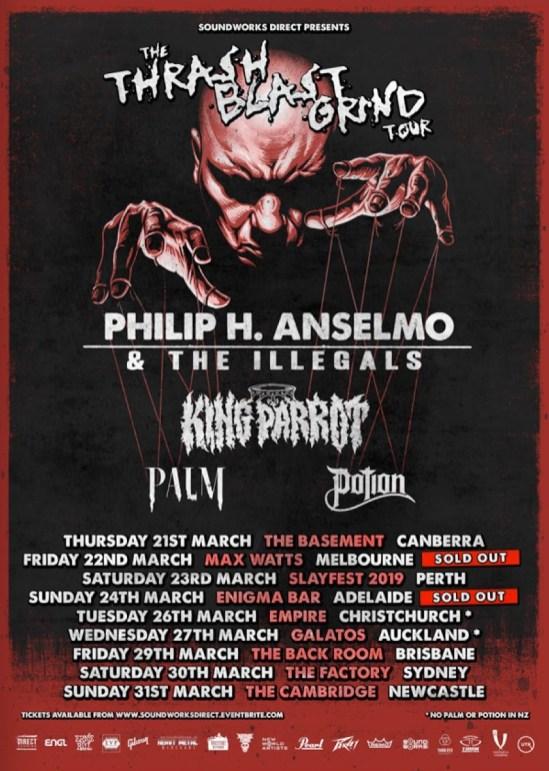 phil anselmo tour