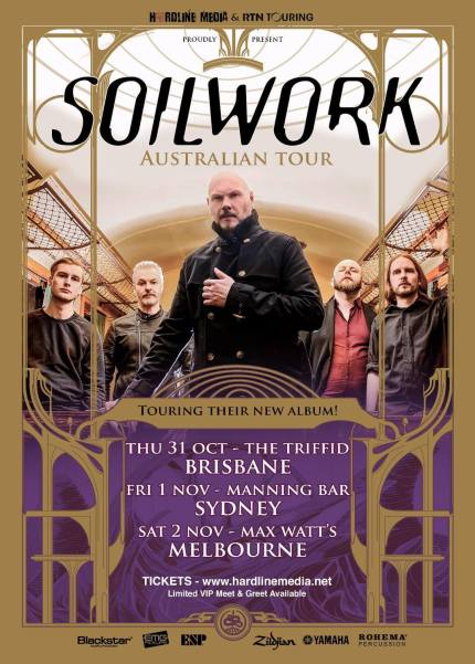 soilwork new tour
