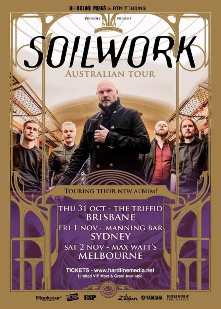 soilwork new tour