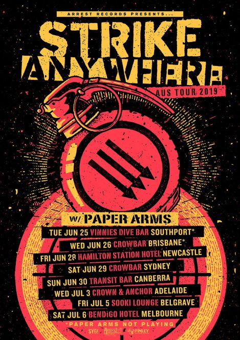 strike anywhere tour