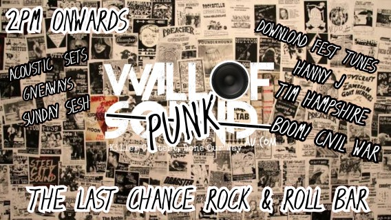 Wall of Punk - Melbourne Sunday Session