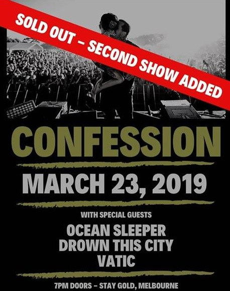 confession show march 23