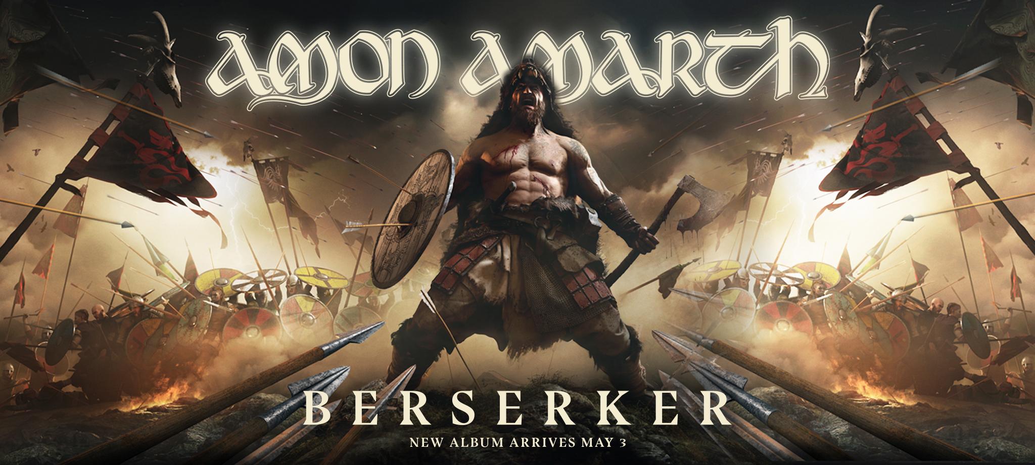 Amon Amarth – Berserker (Album Review) – Wall Of Sound