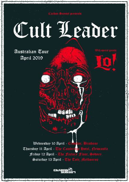cult leader tour