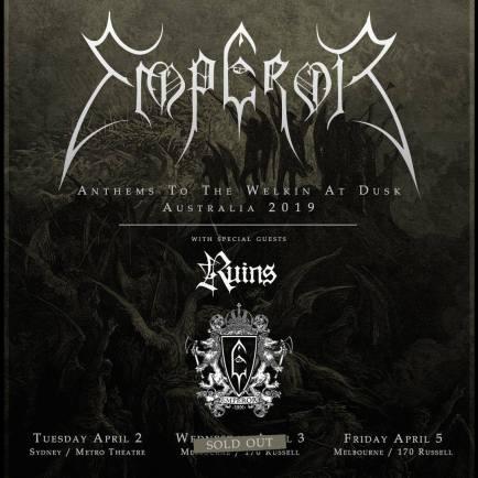 emperor tour