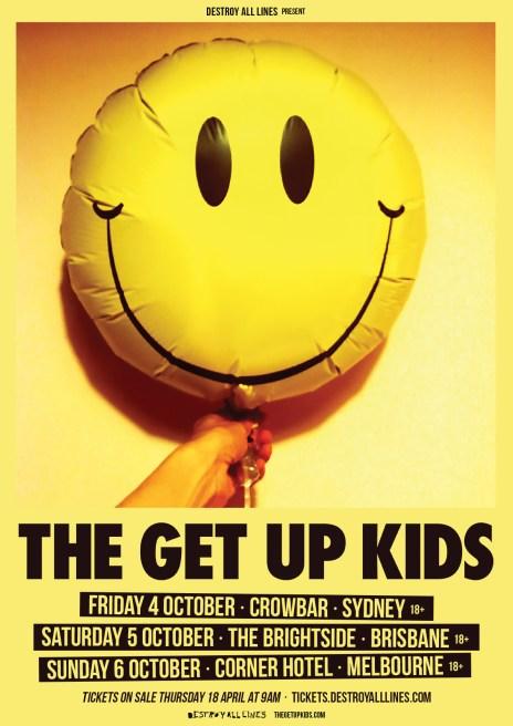 get up kids tour