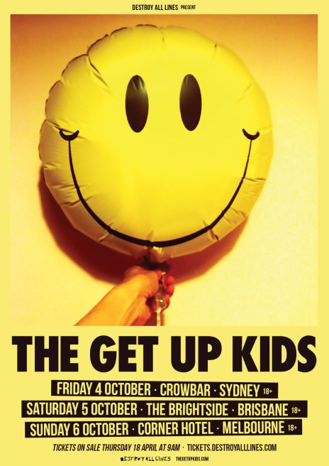 get up kids tour