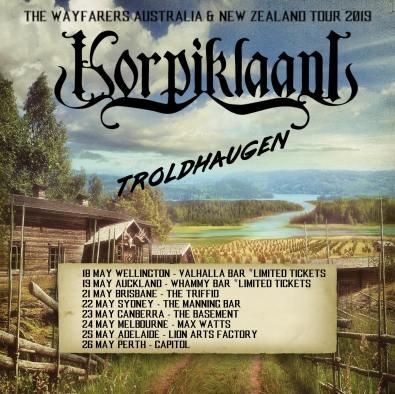 Korpiklaani tour
