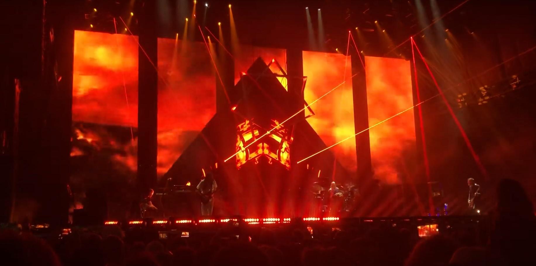 Catch a glimpse of two new Tool songs recorded live at