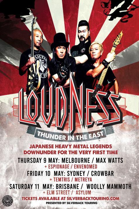 loudness tour