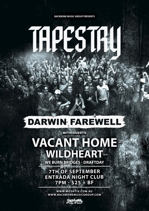 tapestry farewell darwin show