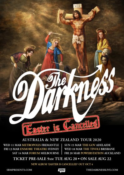 darkness easter tour