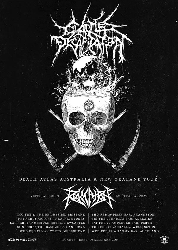 Cattle Decapitation + Revocation Are Touring February 2020
