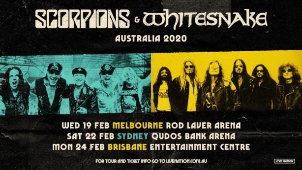 scorpions whitesnake tour