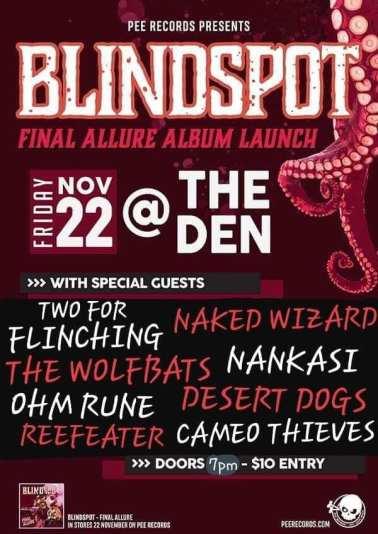 blindspot band show