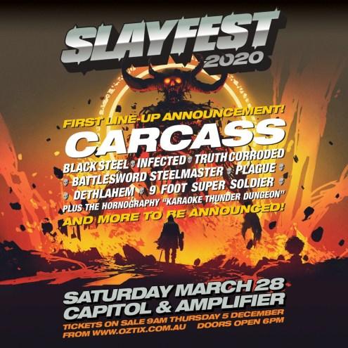 Slayfest 1st Announce Insta