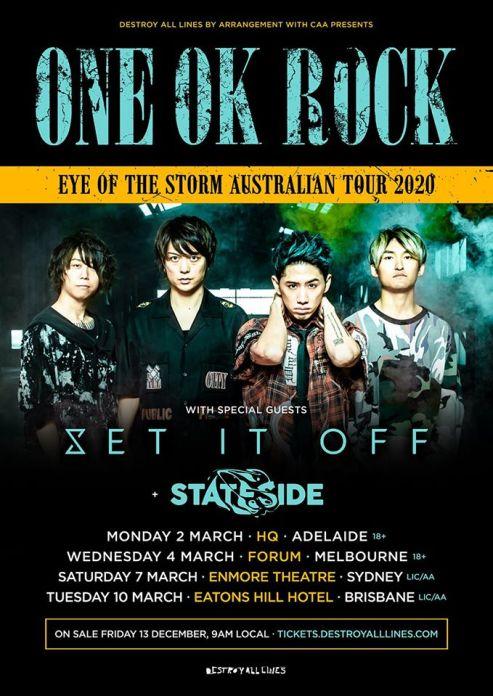 one ok rock tour