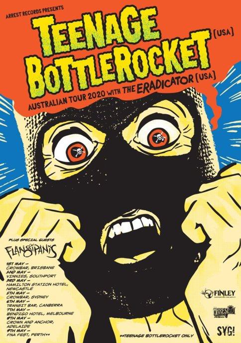 teenage bottle rocket tour 2020