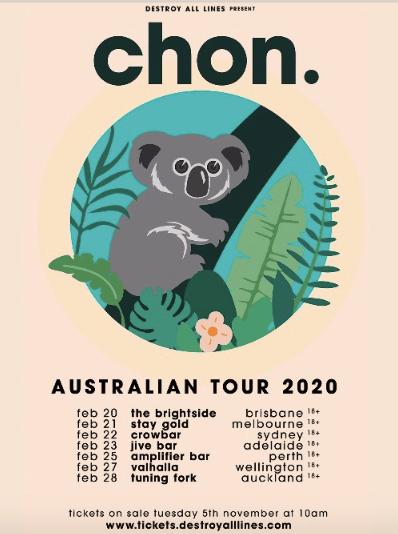 Chon_Australian tour 2020