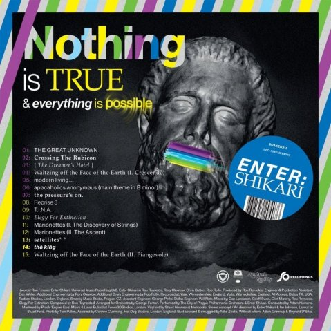 enter shikari - Nothing Is True & Everything Is Possible album