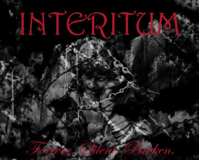 Album cover Interitum Forever. Silent. Broken. 2020
