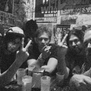 (L-R) Frank Sidoris, Luke Morton, Oliver Halfin, Alex Milas & Maric