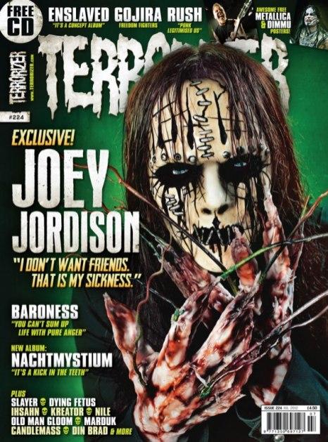 Joey in Terrorizer #224