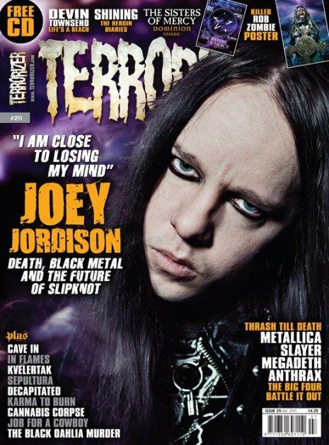 Joey in Terrorizer #211