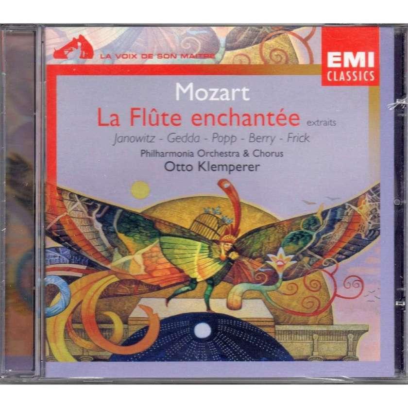 MOZART, Wolfgang Amadeus (1756-1791) La Flûte enchantée : Der Hölle Rache kocht in meinem Herzen (K. 620) dirigé par Otto KLEMPERER