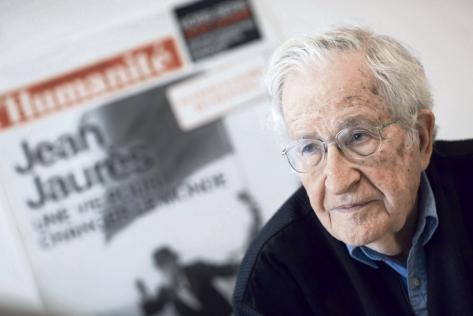 Noam Chomsky, l'Anthropocène, le libéralisme et autres fléaux…