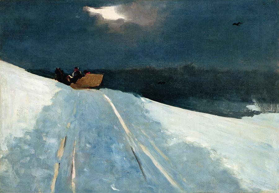 HOMER : Sleigh Ride (1890-95)
