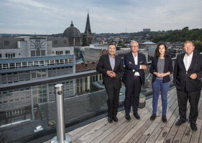Cinq propositions pour changer Liège (L'Echo, 2018)