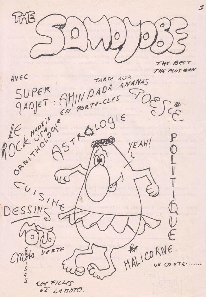 SAMOYOBE (the -) : numéros 1 et 2… de deux (vers 1975)