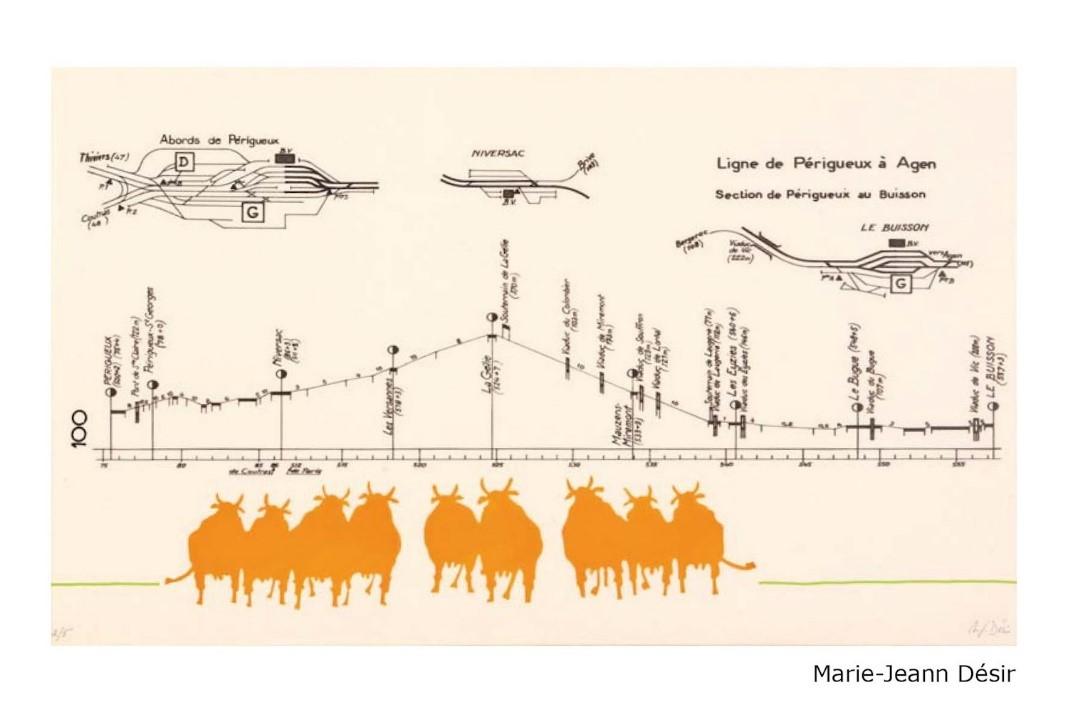 DESIR : Les Vaches (2013, Artothèque, Lg)