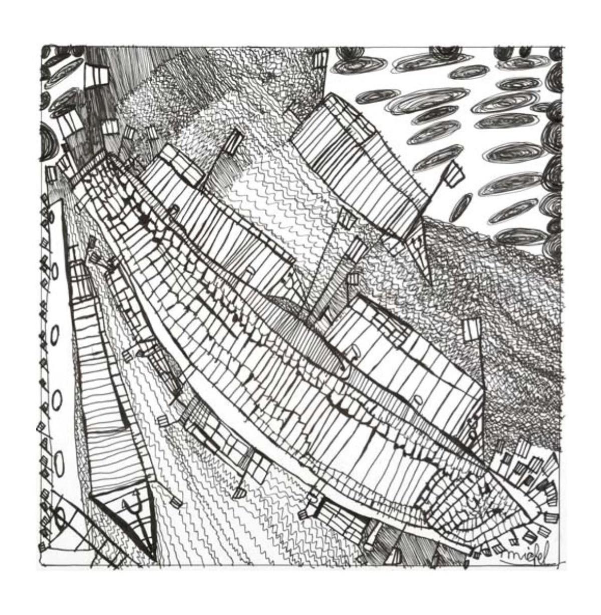 PETINIOT : Sans titre (Port de Liège) (2008, Artothèque, Lg)