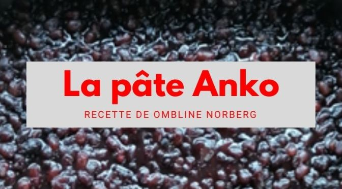 La pâte Anko