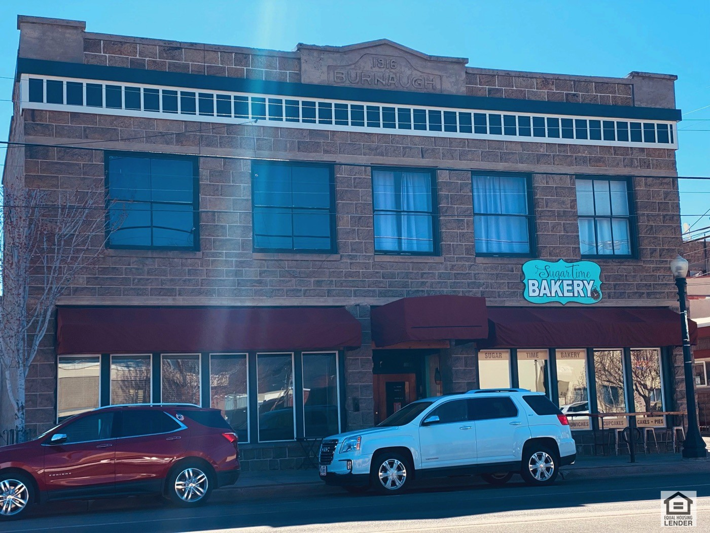 There is a basement commerial unit that is also leased.