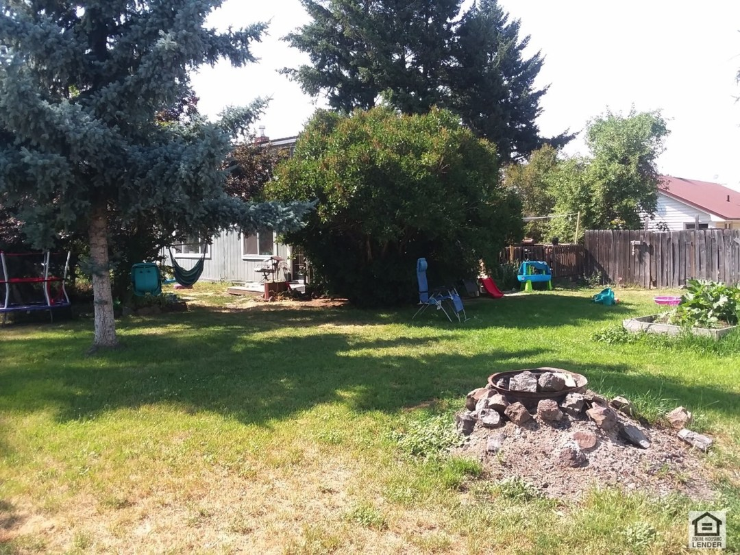 Large Private Yard